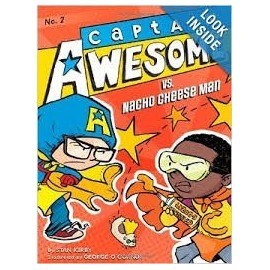 CAPTAIN AWESOME VS NACHO CHEESE MAN