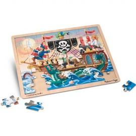 M&D 3800 Pirate Adventure Jigsaw Puzzle