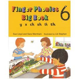 FINGER PHONICS BIG BOOK 6