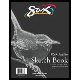 Sketchbook (Sax Black Sketch Book, 8-1/2 X 11 in, 50 Pages)