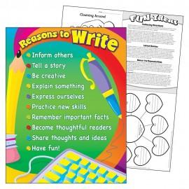REASONS TO WRITE CHART
