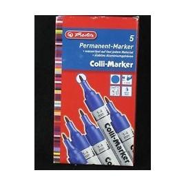 8860611 PERMANENT MARKER RUND 1-4mm BL (10 pcs)