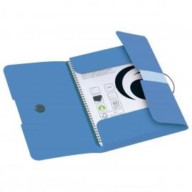 50015924 WALLET FOLDER PP A4 BALTIC BLUE