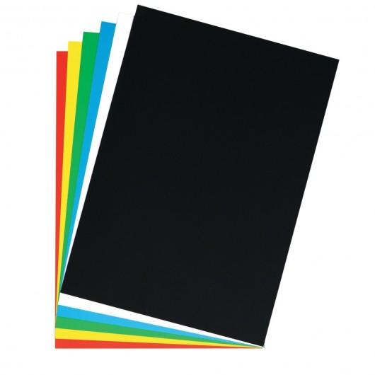 poster cardboard 48x68 cm bright white