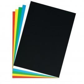 poster cardboard 48x68 cm black