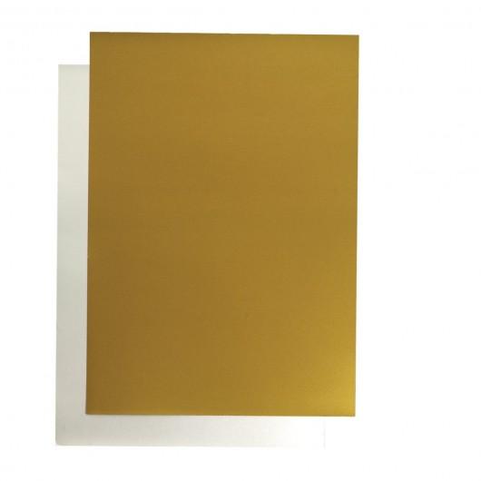 poster cardboard 48x68 cm silver