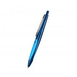 Gel ballpoint pen my.pen darkblue/lightblue loose