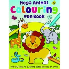 Mega Animal Colouring Fun Book
