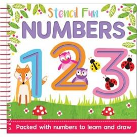 Stencil Fun Numbers