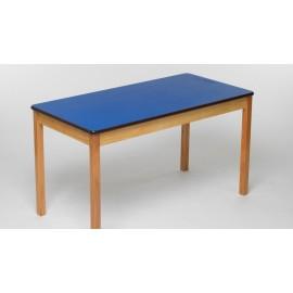 Tuf Class™ Rectangular Table - Blue