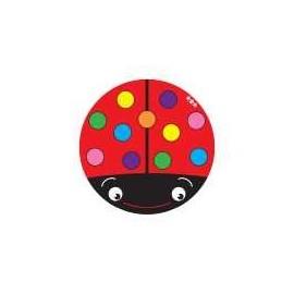 HK0006 Round Carpet Ladybug