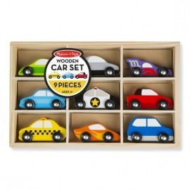 M&D 3178 WOODEN CARS SET