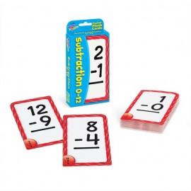 T23005 Subtraction 0-12 Pocket Flash Cards