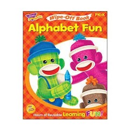 T94118 Alphabet Fun Wipe Off Book